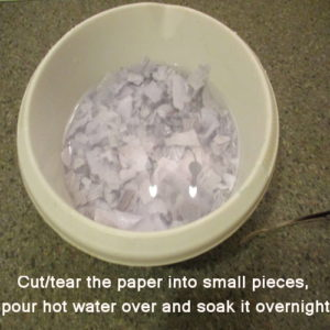 make paper mache clay without joint compound